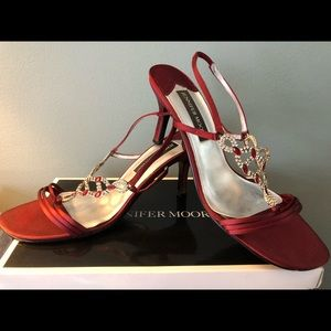Jennifer Moore 8 1/2 regular width Satin Heels